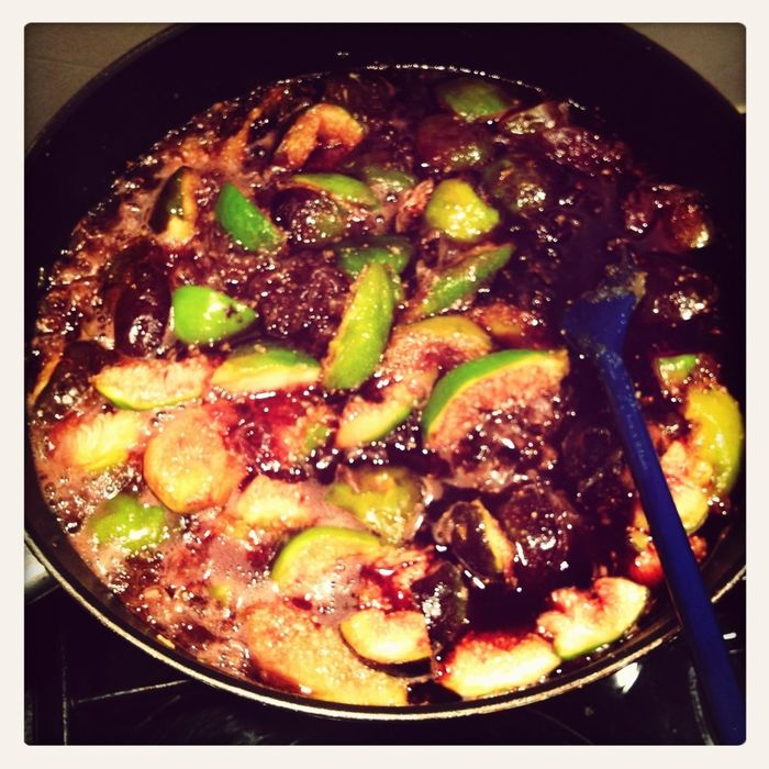 Food porn. Fig chutney. Winter can come.