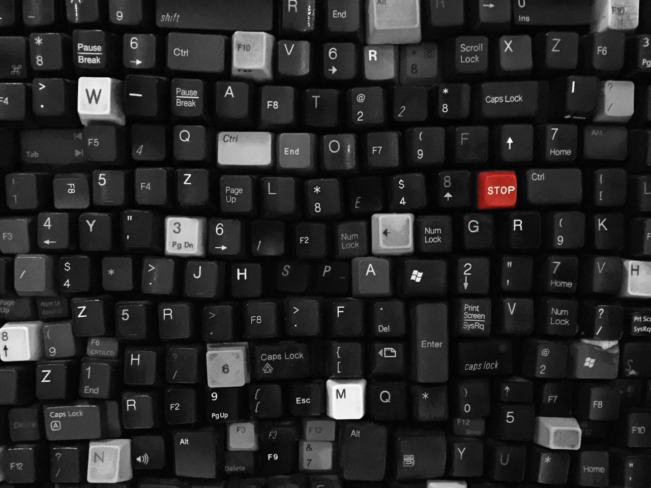 Beautiful stock photos of tastatur, Alphabet, Backgrounds, Communication, Computer Key