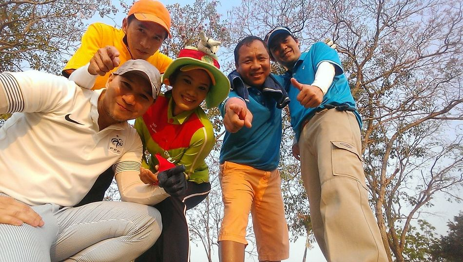 Happy Time Golfing