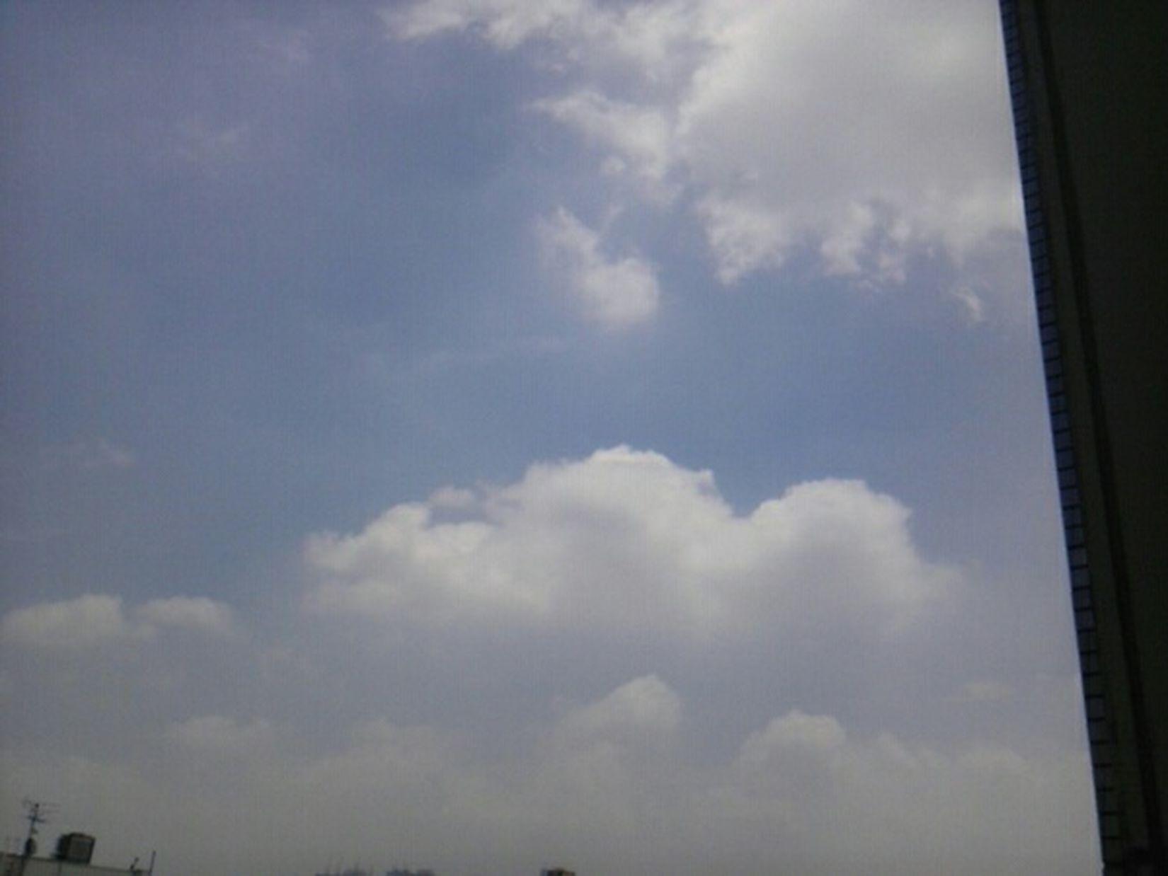 いー天気❗ 空 雲 Sky ☀morning Morning Good Morning 暑い🔥☀ 体調😆👍 Home Sweet Home
