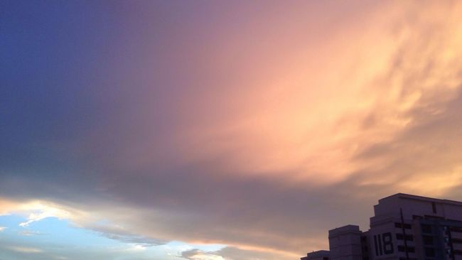 She blushes as her heart was charmed by it. Sky Sunset Beauty In Nature Cloudscape Tranquility LSmoments Nature