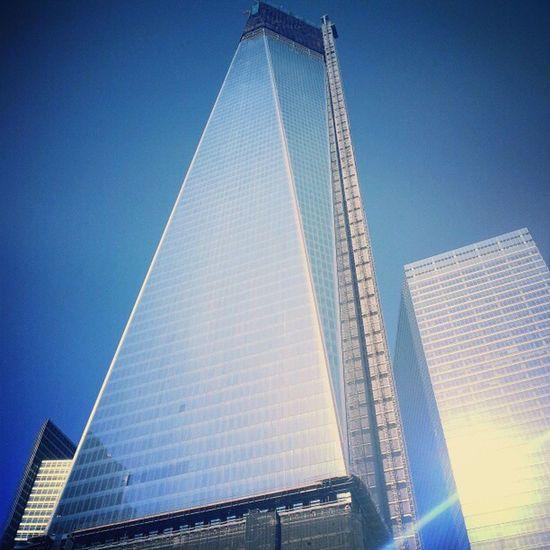 One of the new twin towers Twintowers 9 /11 America Newyork nyc awesome amazing instagram instamood instahub instadaily instagood igaddicts ig ignation igers igdaily tbt tweegram
