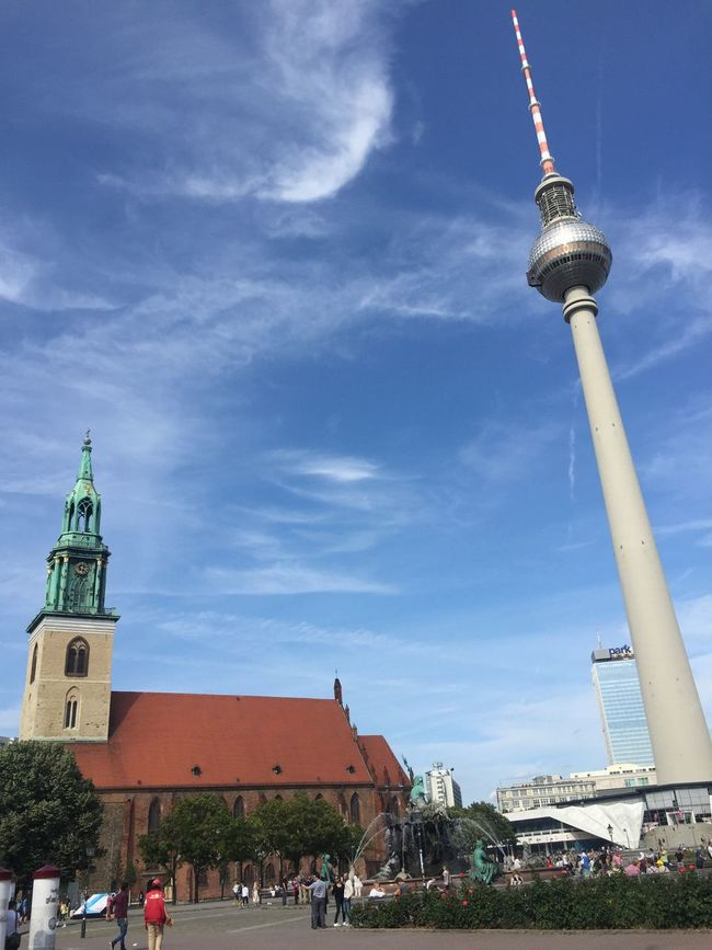 Beautiful summer day in Berlin. City View  GERMANY🇩🇪DEUTSCHERLAND@ Berlin My Fuckin Berlin The Purist (no Edit, No Filter)