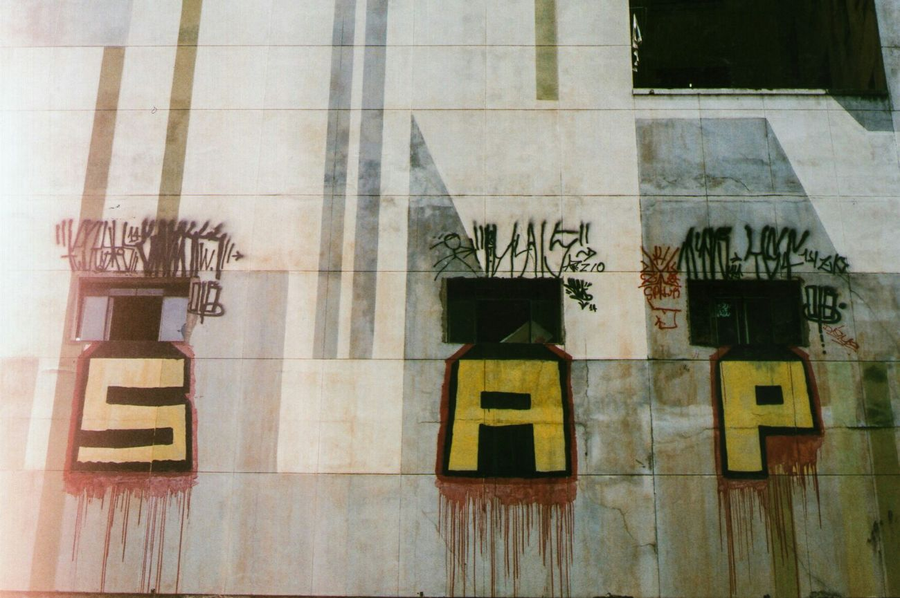 Sao Paulo - Brazil Saopaulo Streetphotography Street Urban Urban Context Urban 4 Filter Pentax K1000 50mm 35mm Film
