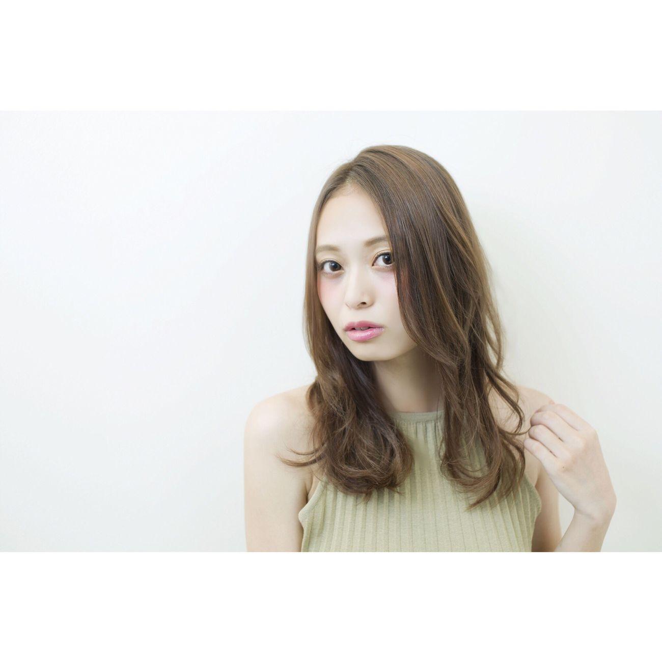 別ショット 美容室 サロンモデル 箕面 Hair Beauty Beauty Girl Japan Japanese Girl Kokubutoshinobu Hairstyle