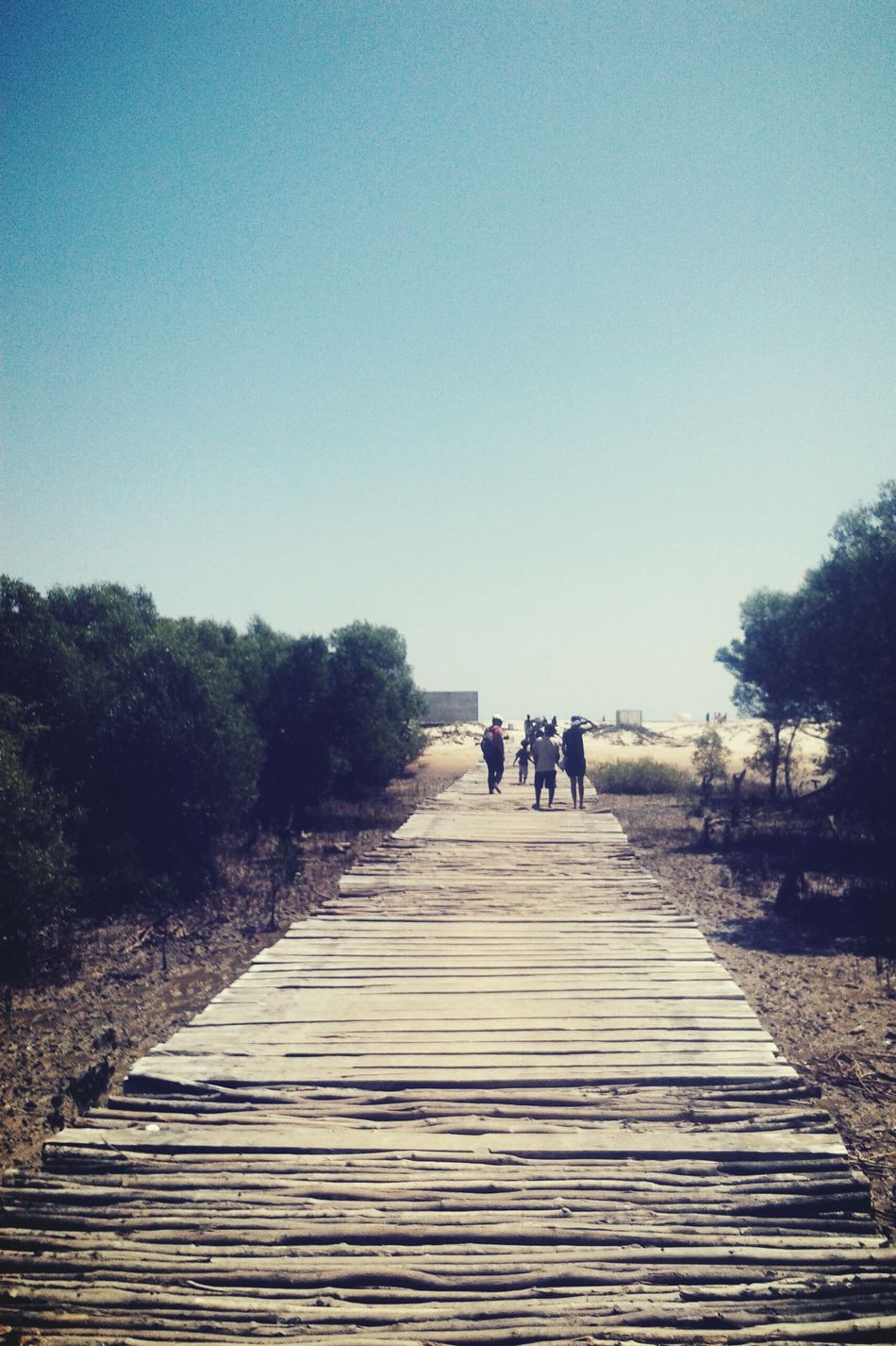 On the way to the beach!! Beach Please Beach Bridge Nature Landscape Mobile Photography