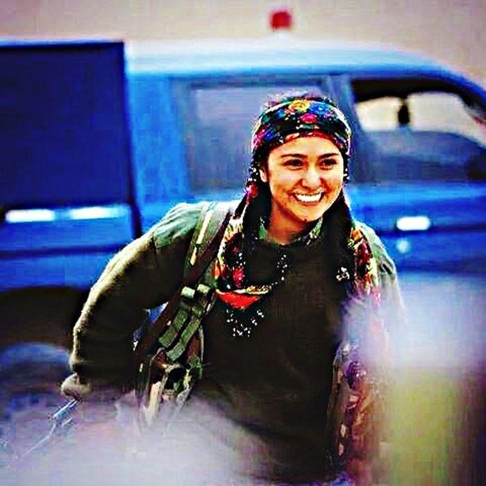 Guerilla YPJ Kurdish Soldier Beauty Beautiful Proud