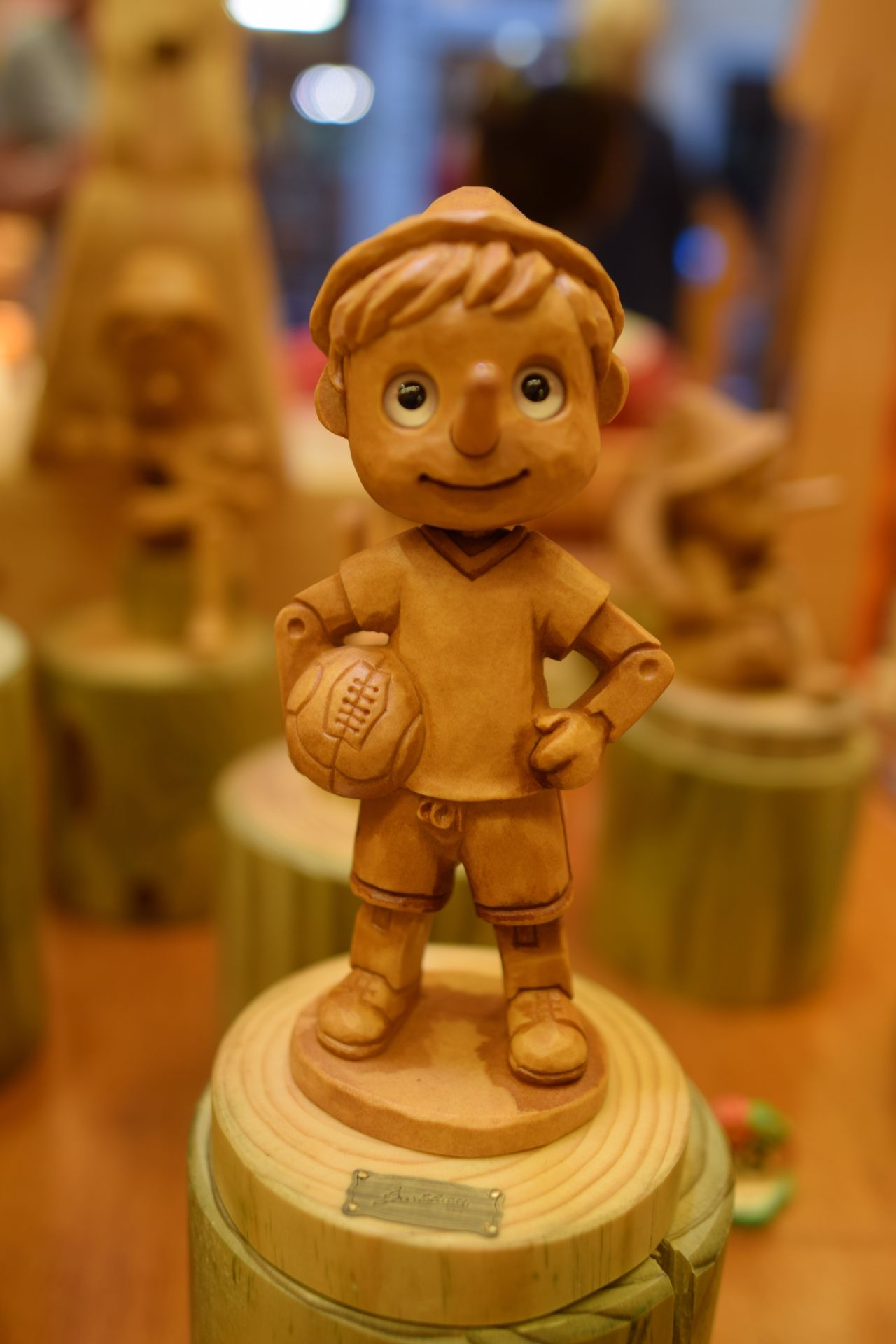 Indoors  Focus On Foreground Figurine  Close-up Art And Craft No People Table Sculpture Statue Childhood Day Pinochio EyeEm New Here Italy Florence