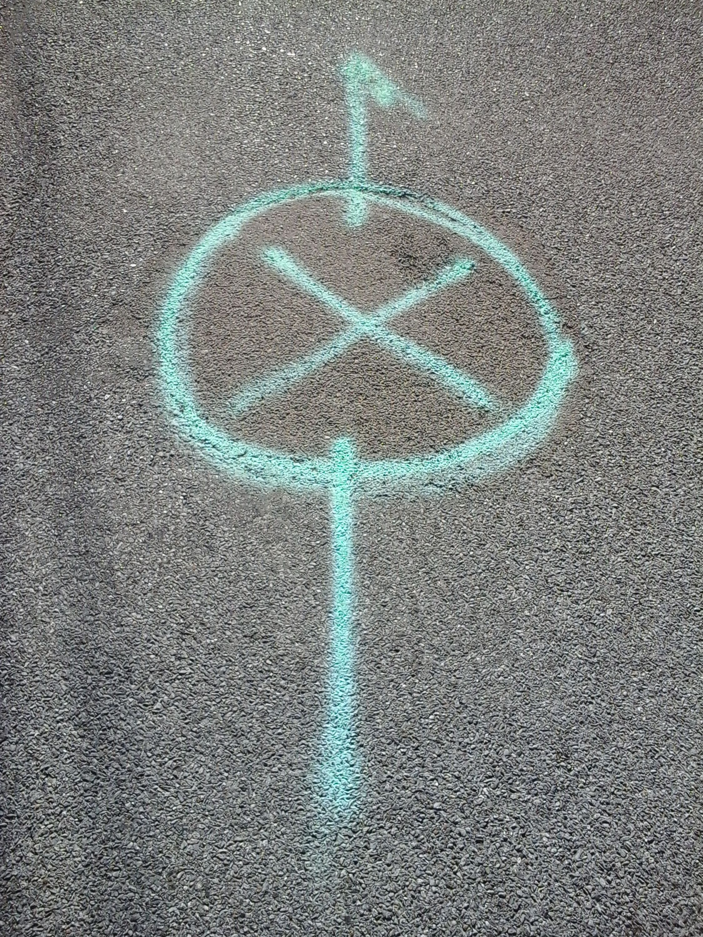 X Marks The Spot Things You Find Painted On The Road Painted Roads Samsung Galaxy Tablet