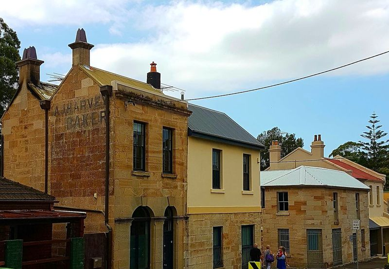 Architecture Building Exterior Sky Built Structure Window History City No People Outdoors Day Balmain Rozelle Sydney historical Sydney sandstone building sandstone