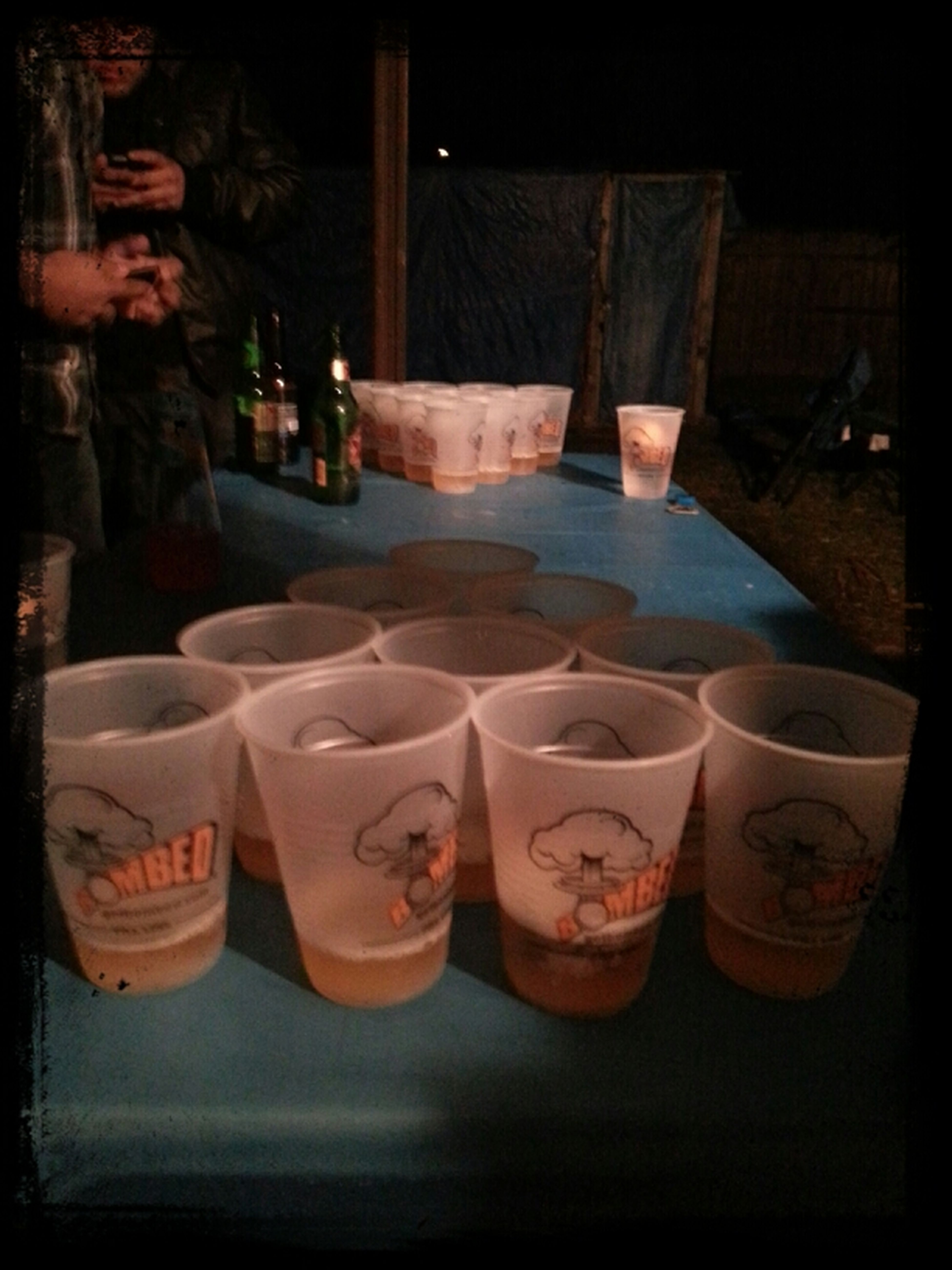 Beer Pong Last Night