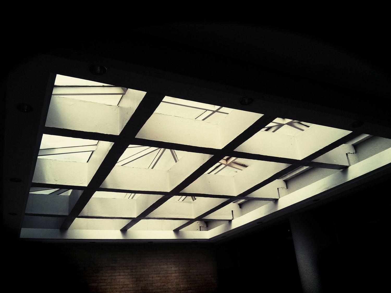 Lines and Light Urban Geometry Light Window