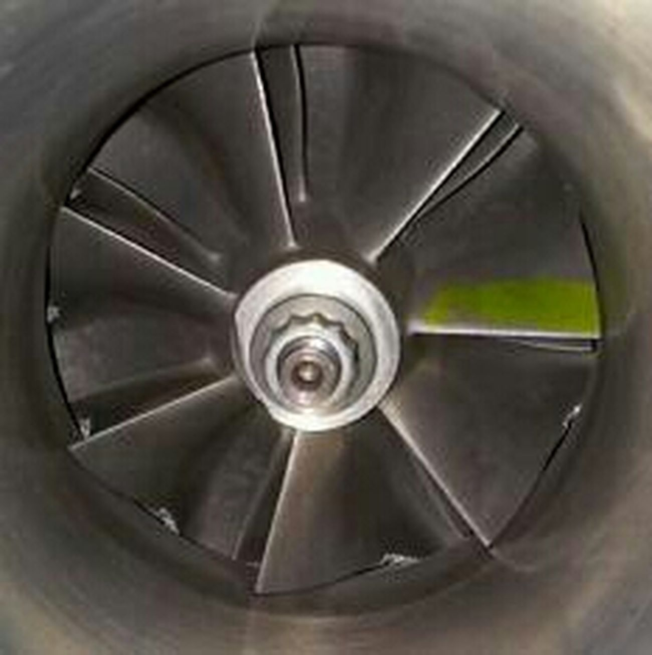 Damage Compressor Wheel