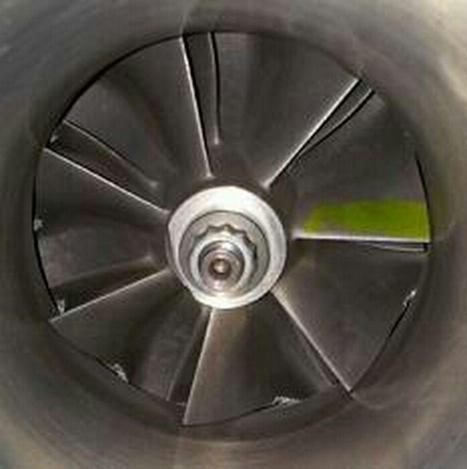 Damage Compressor Wheel