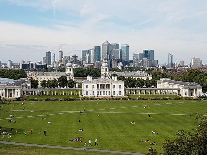 Old London New London Greenwich Canary Warf