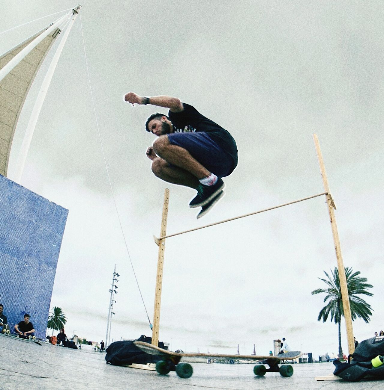 Huppie Jump Longboard