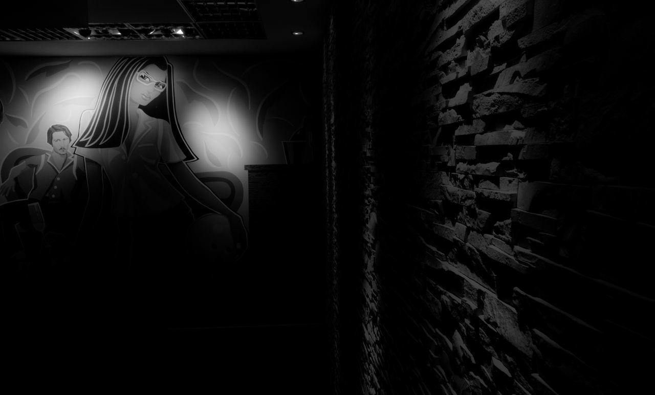 Blackandwhite Photography Dark Illuminated Indoors  Night Painting People Woman