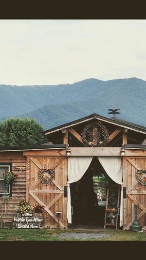 Wedding Barn Barn Wedding Blueridgemountains Luray Virginia Built Structure Architecture No People Mountain Day Building Exterior Outdoors Tree Sky Grass Nature
