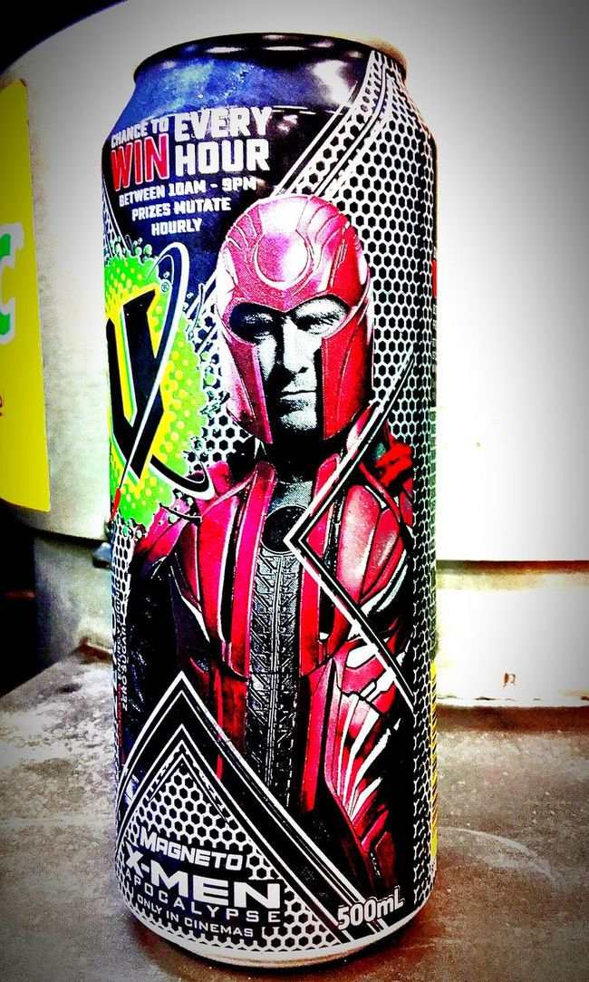 Xmen Magneto Energy Drink Drink Can Aluminium Cans Energydrinks Energydrink Energy Drinks Cans Drinkcans EnergyDrinkCans V Energy Drink V X-men Apocalypse Aluminiumcans Xmenapocalypse X Men X-men Apocalypse Xmencollection Aluminum Can MagnetoMan Magneto Man Aluminiumcan Aluminium Can
