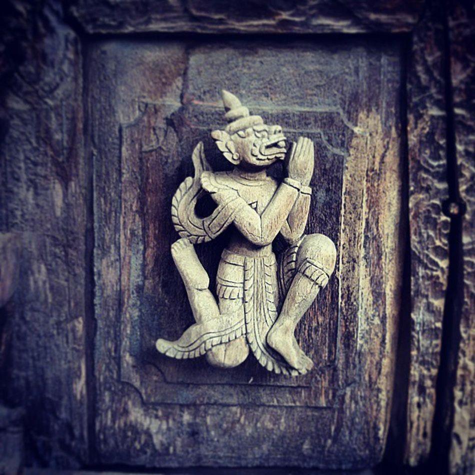 Garuda Garuda Bird Myth Teak Wooden Myanmar Mandalay Vscomyanmar Ingersmyanmar Sculpture Architecture