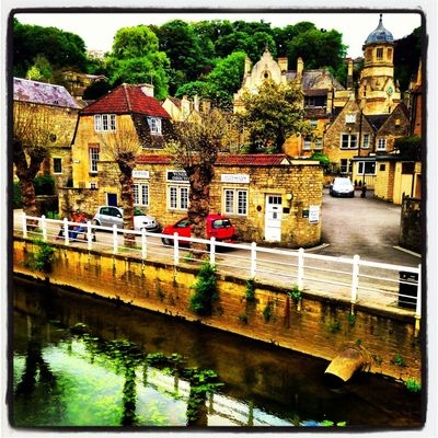 iPhone at Bradford On Avon by Mick Yates