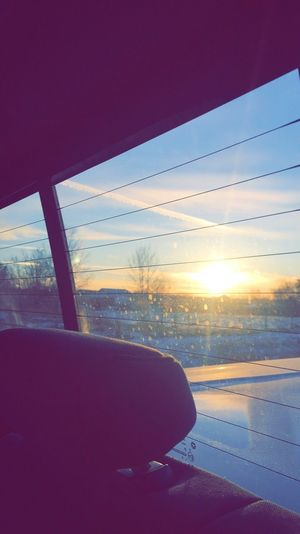 Sun Blue Sky Cold Temperature Sunset Journey Travel Sky Nature Day Scenics Beauty In Nature
