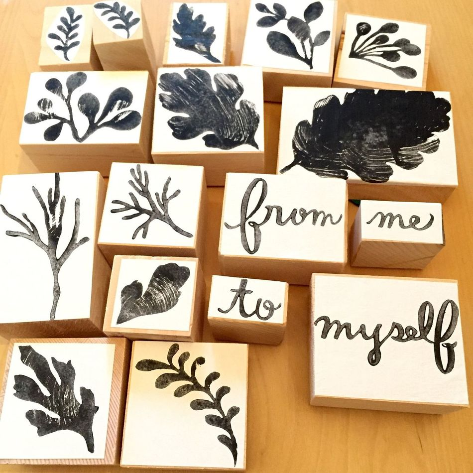 Wood Cut Stamps