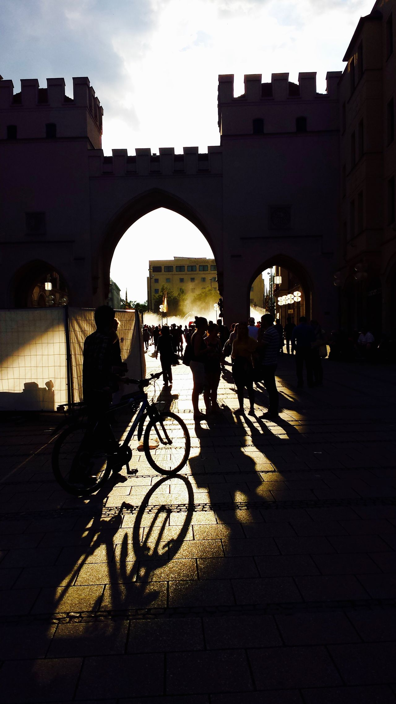 Amazing Memories Arch Architecture Bicycle Bycicle Photography City City Life Deutschland Deutschland Ist Schön Deutschland_greatshots EyeEm Best Shots G Germany 2014 Love The Little Things Munich Architecture Munich, Germany München Deutschland München Memories München,Germany S Shadow Silhouette Sun Set Collection Sunset Silhouettes Transportation