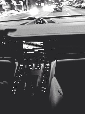 Bnw Driving Porsche Panamera