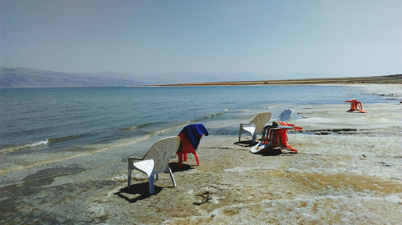 Beach Water Shore Sea Tranquility Relaxation Clear Sky Beauty In Nature Ein Gedi Israel Desert Desert Life Desert Landscape Wüste  Totes Meer Dead Sea  Dead Sea View Saltwater Salt Life