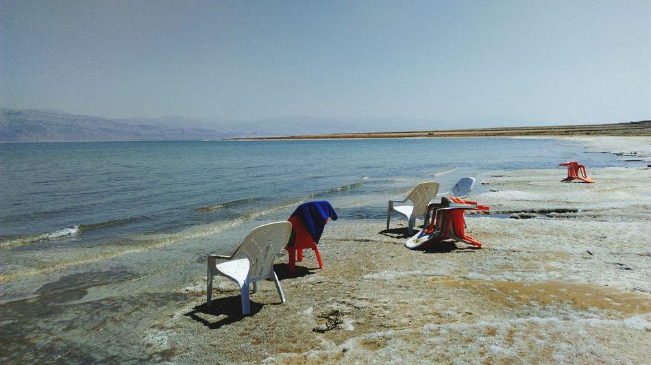 Beach Water Shore Sea Tranquility Relaxation Clear Sky Beauty In Nature Ein Gedi Israel Desert Desert Life Desert Landscape Wüste  Totes Meer Dead Sea  Dead Sea View Saltwater Salt Life