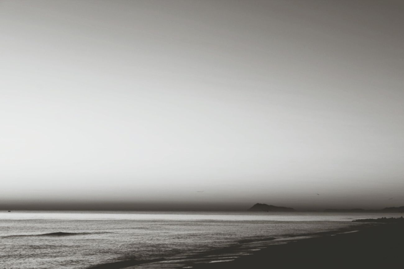 Amanecer en la playa del Saler. Sunrise Monochrome Quiet Moments Long Exposure