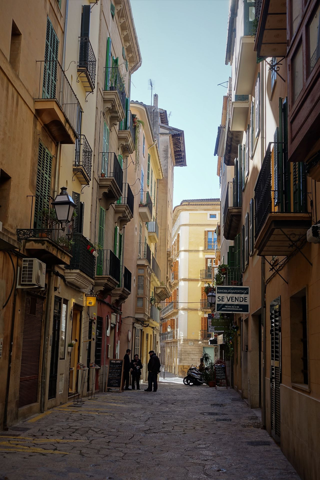 Mallorca Architecture Building Exterior City Day Facade Building No People Old Town Outdoors Sky Travel Destinations