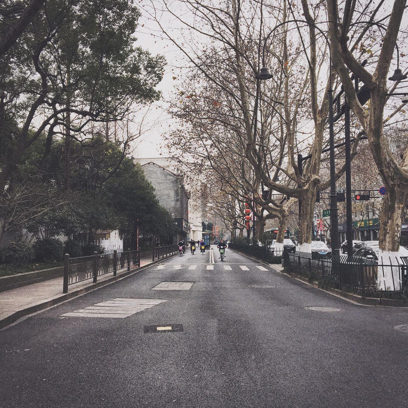 Walking Road Outdoors City