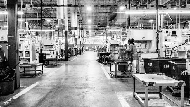 Black And White Black And White Photography Factory Factory Workers People And Places Monochrome Photography Overnight Success