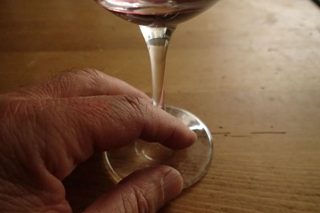 Addiction Alcool  Close-up Food And Drink Human Body Part Human Finger Indoors  Old Man Real People Table Wine Wineglass