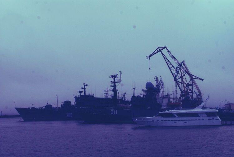 War&luxury Industry Water Sea No People