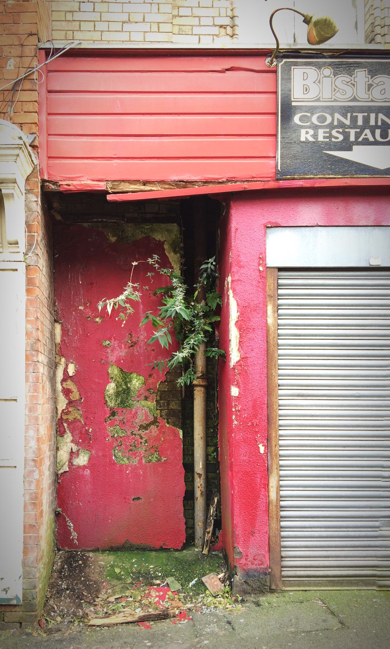 Decay Abandoned Red Derelict Derby Closed Built Structure Exterior Building Exterior Building Street Photography No People