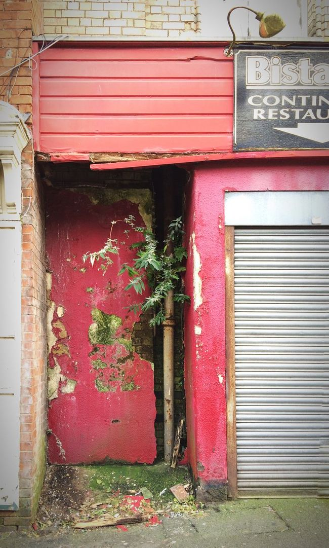 Decay Abandoned Red Derelict Derby Closed