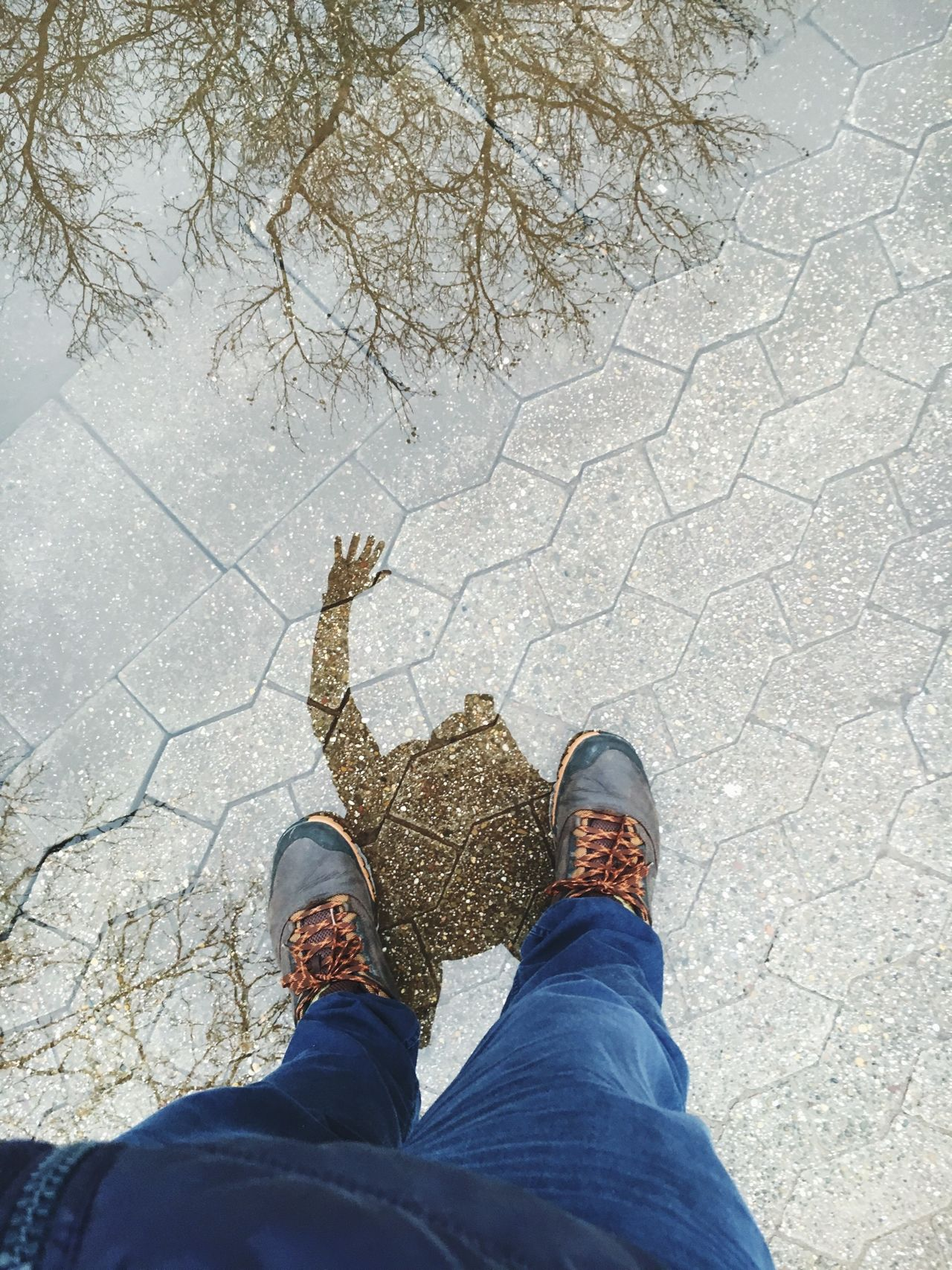 Beautiful stock photos of regen, Day, Directly Above, Footpath, Gesturing