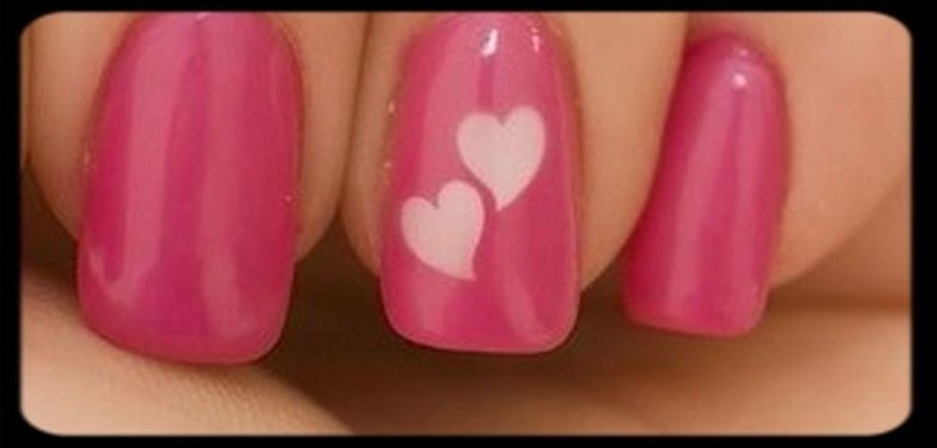 Handmade Jewellery Heart That's Me :)) Nails