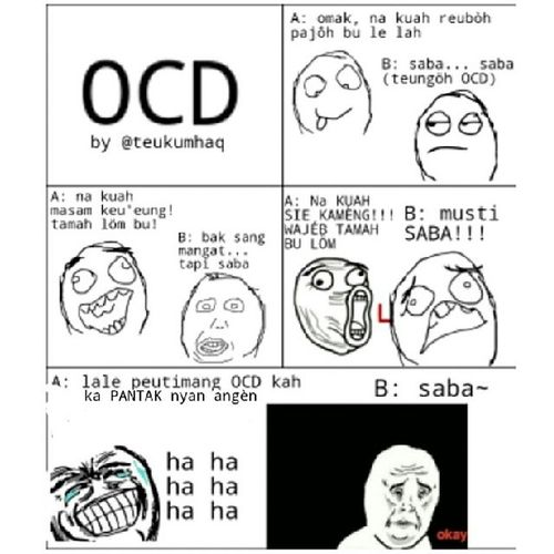 OCD Aceh RageComic RageAceh Lawak