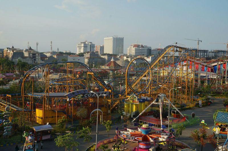 Theme park 🙌 Fun Theme Park Taking Photos Relaxing Landscape View Nofilter