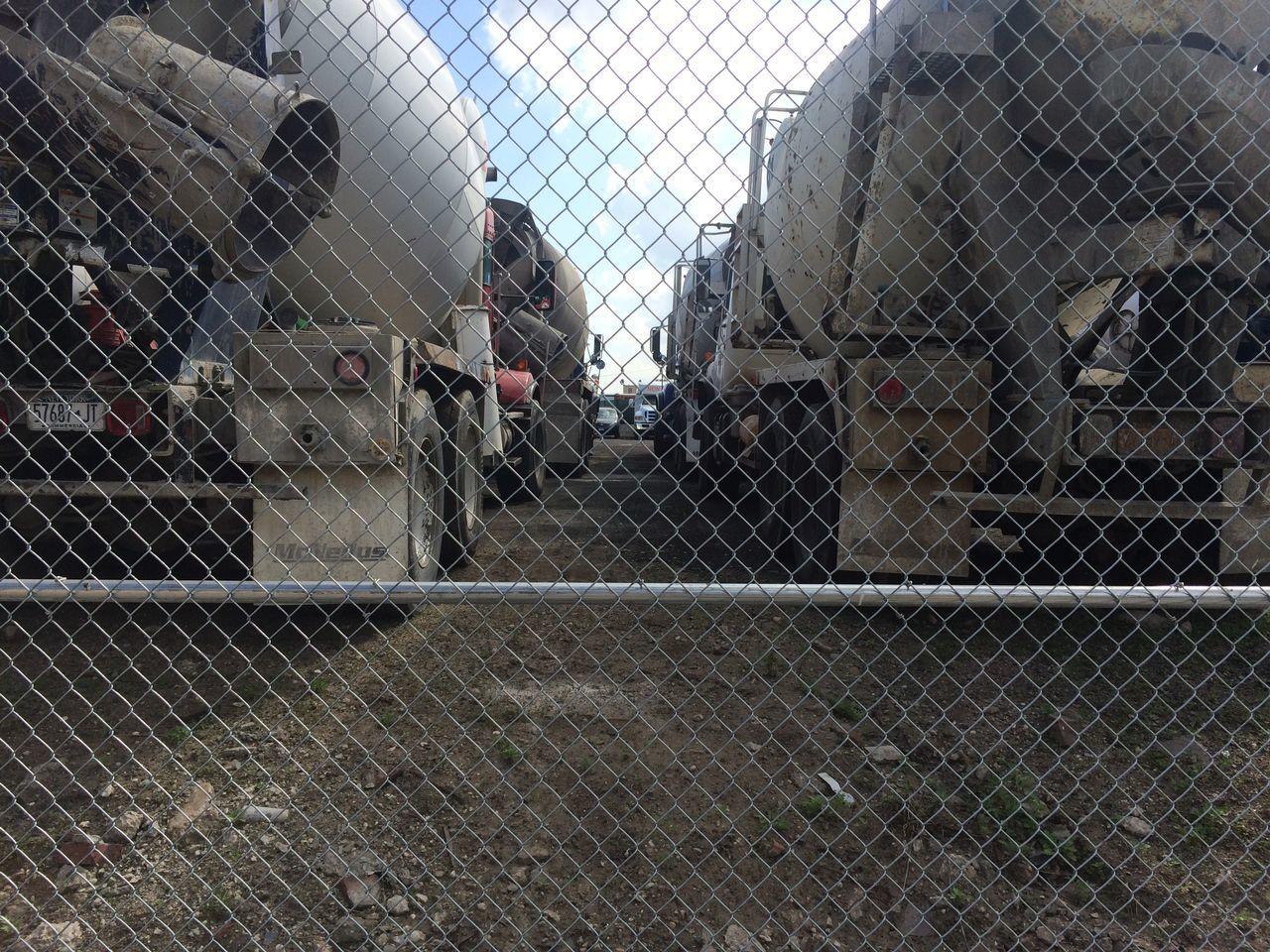 Trucks Fence