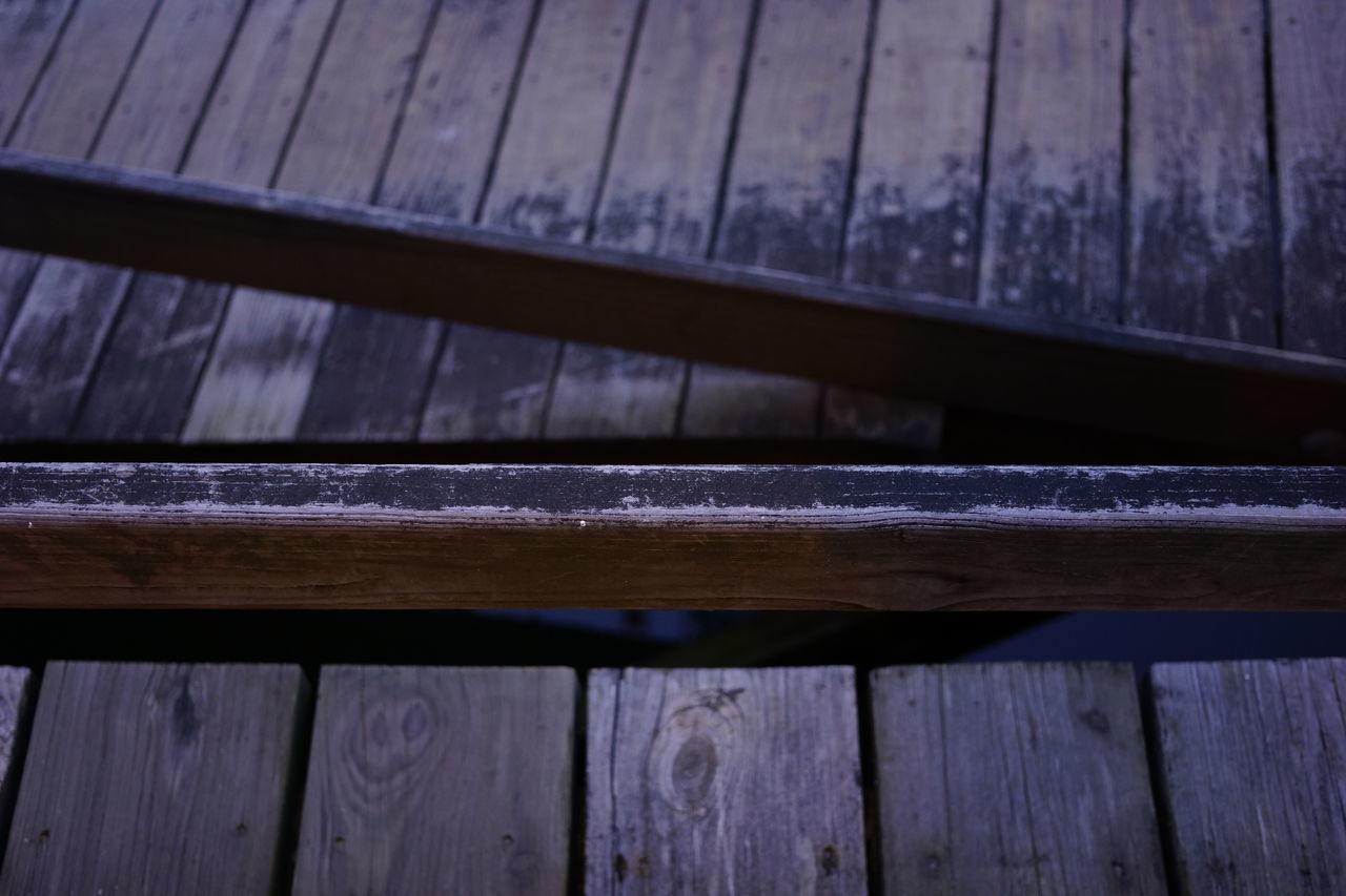 wood - material, close-up, outdoors, no people, day, textured, backgrounds, roof, girder