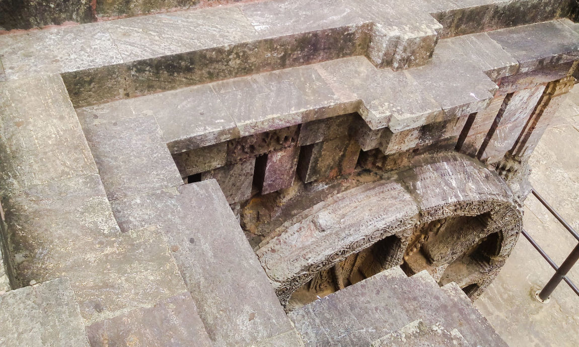 Chariot Wheel From Above  From My Point Of View KONARK TEMPLE Konark Sun Temple Chariot Shape Stone Carving Stone Carved Temple A Bird's Eye View Konarktemple in Konark Odisha India