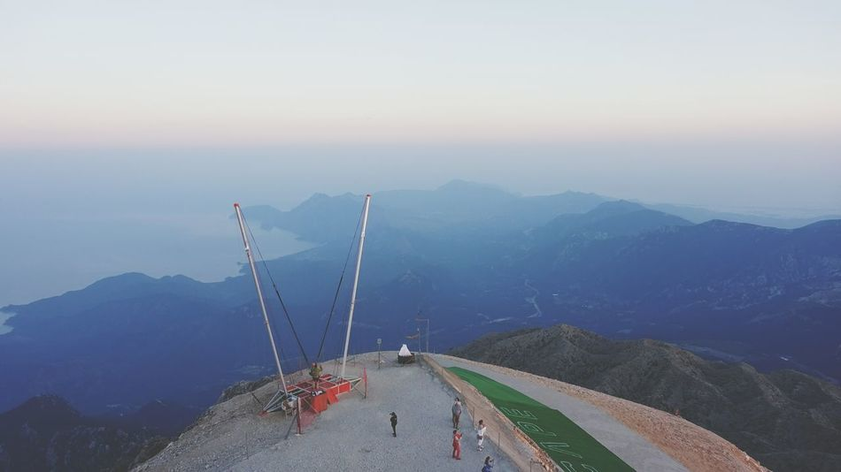 Mountain Landscape People Nature Sky Reflection EyeEm Nature Lover Tahtali Tyrkey  Kemer Antalya