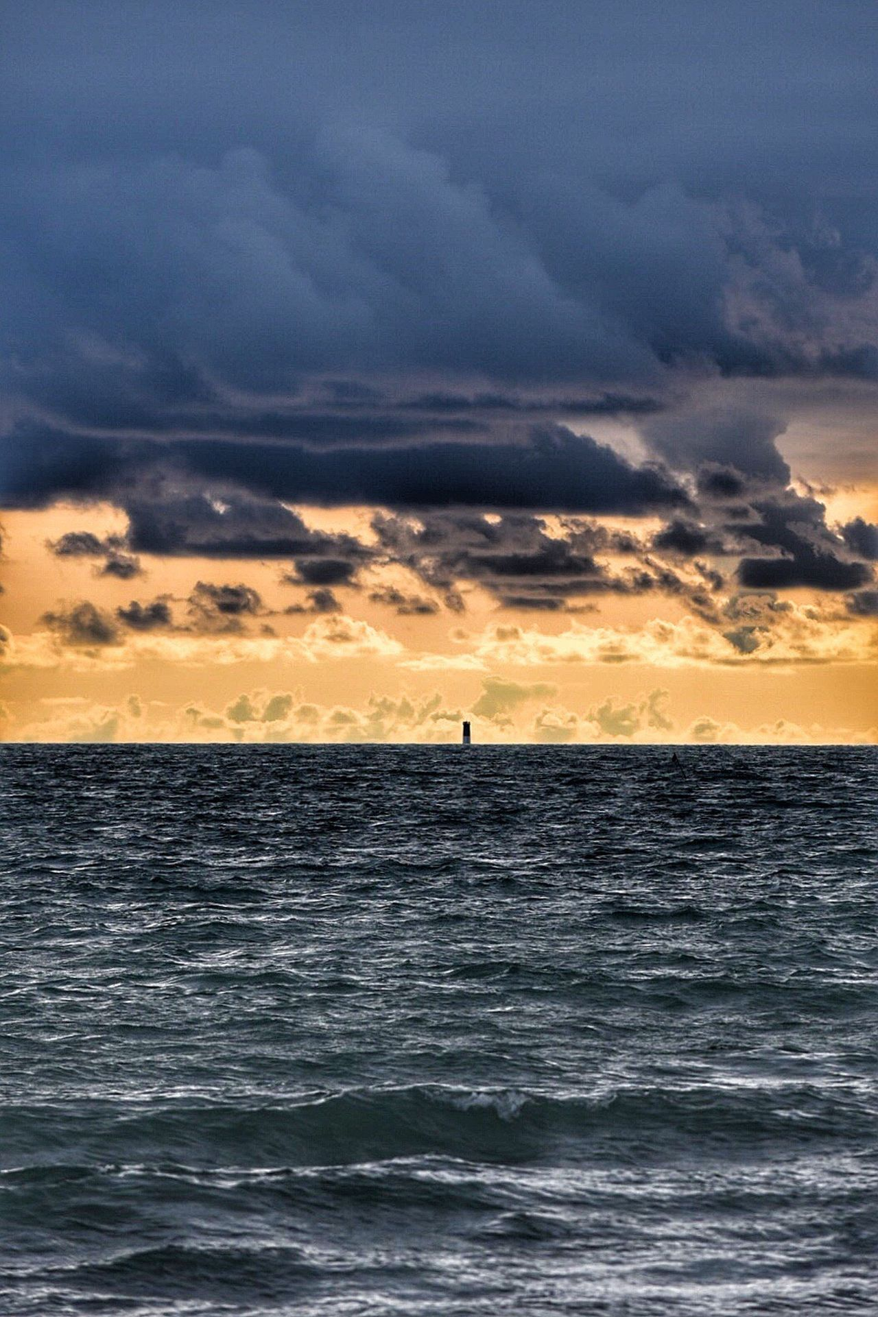 Sunset Sea Beauty In Nature Cloud - Sky Sky Horizon Over Water Nature Scenics Dramatic Sky Water Silhouette Tranquil Scene Tranquility Outdoors Wave