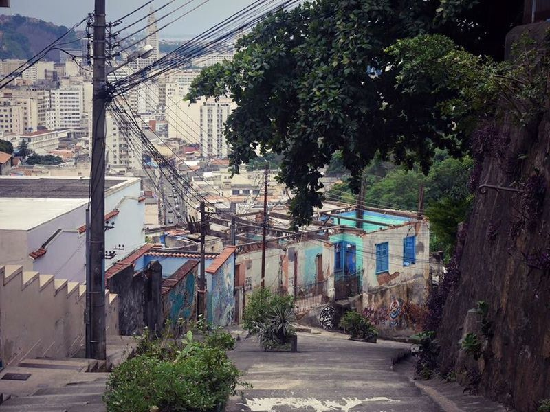 Favelas Outdoors The Way Forward Travel Destinations Day Favelas Rio Riodejaneiro Brasil Tangled Streetemotions Happenings Gray Artistic