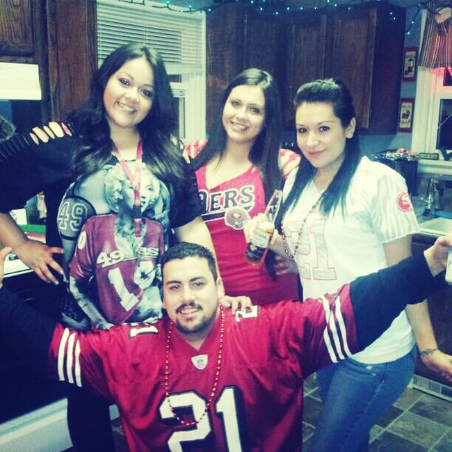 Good Times Family Ride Or Die Go Niners Niners Nation Superbowl Sunday